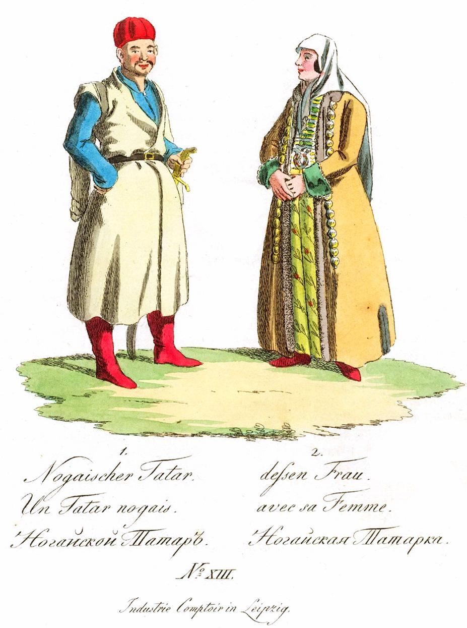 13. Ногайский татар и татарка