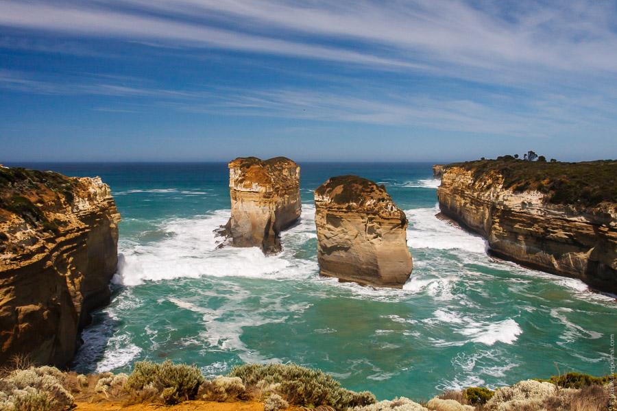 Австралия: окрестности 12 апостолов
