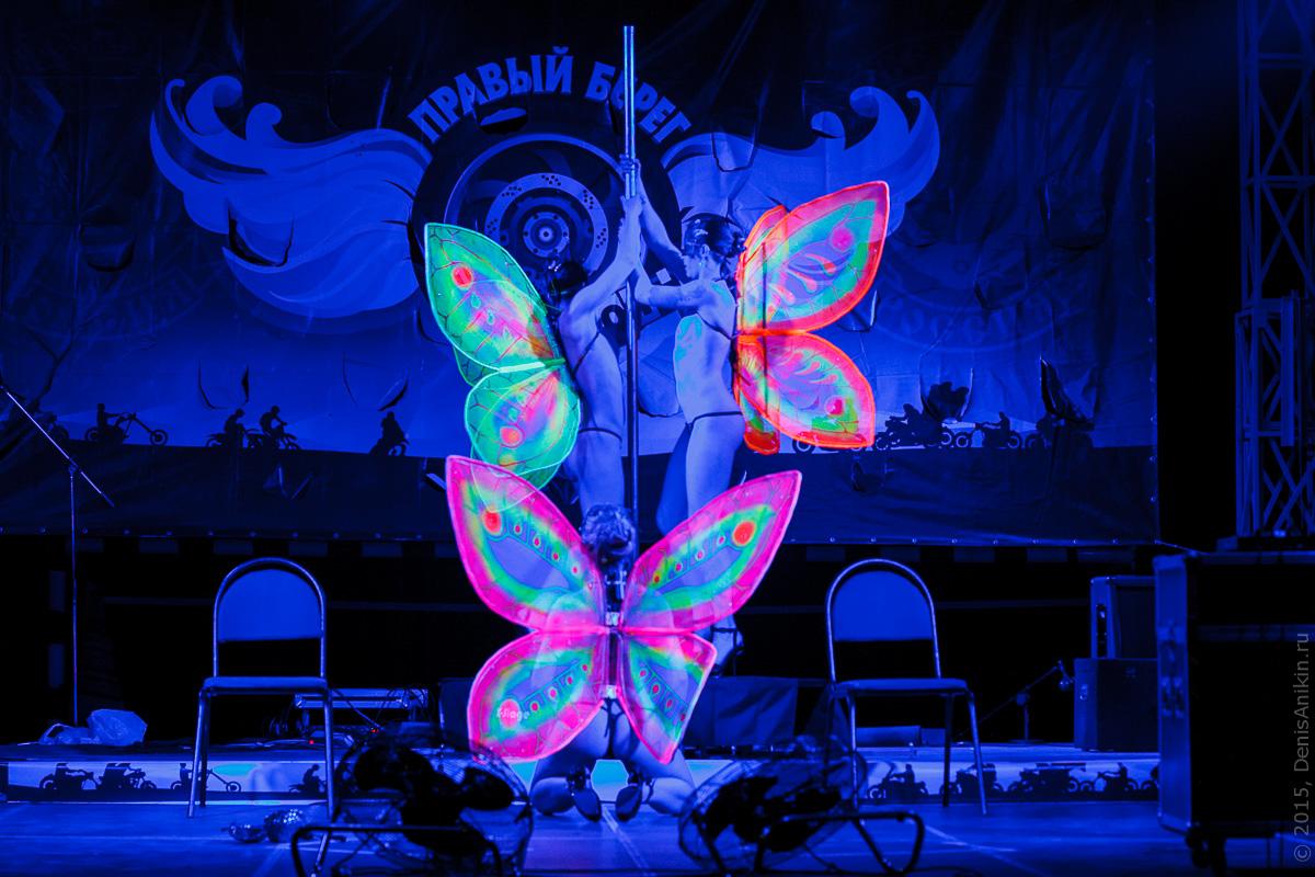 Мотофестиваль Правый Берег 2015 Velina-Dance Бабочки 16