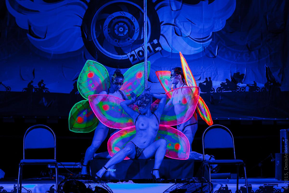 Мотофестиваль Правый Берег 2015 Velina-Dance Бабочки 19