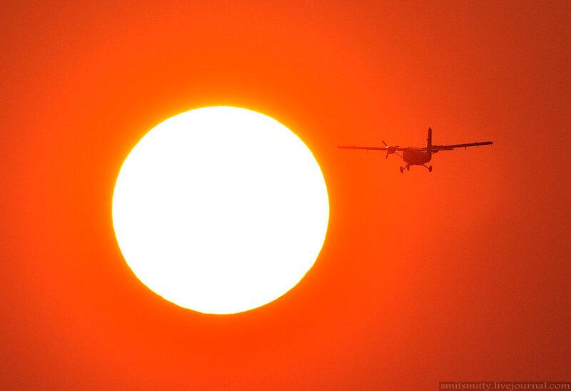 Зимний авиаспоттинг прошёл в аэропорту Владивостока в День гражданской авиации
