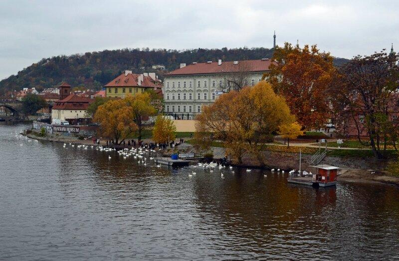 Осень на Влтаве