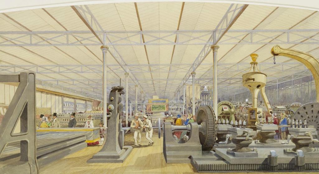 Великая выставка: Перемещение машины  гр. 1851-2