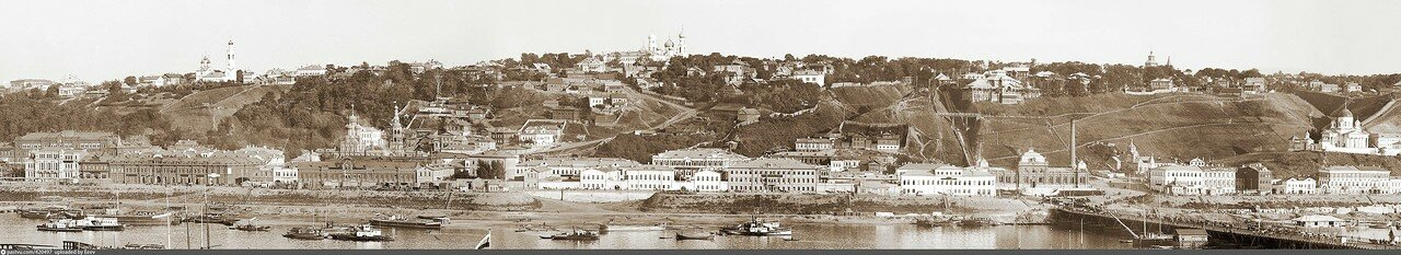 Верхне-Окская набережная. 1900