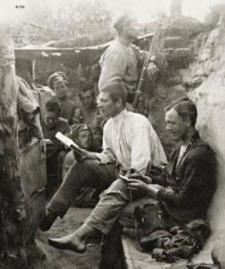 61. 1914-1915. Отдых в окопах