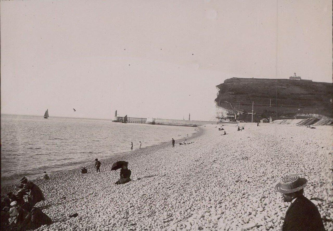 Фекан. Пляж