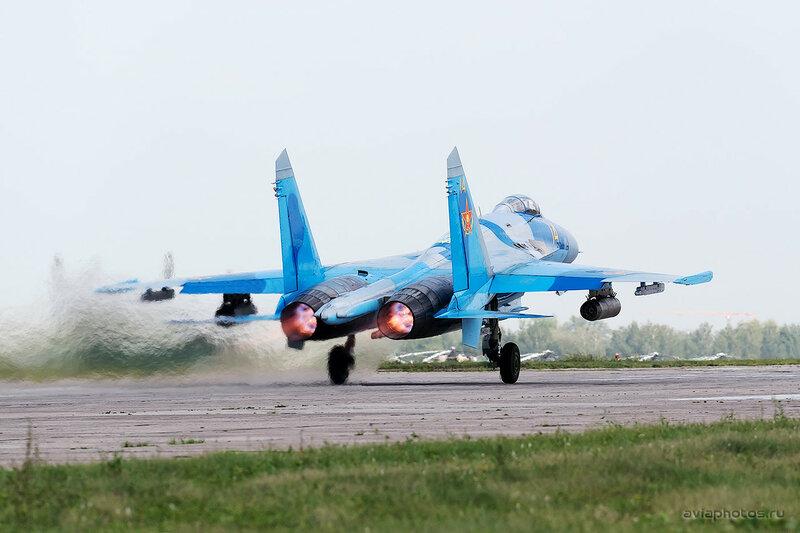 Сухой Су-27С (16 желтый) ВВС Казахстана 1580_D805636