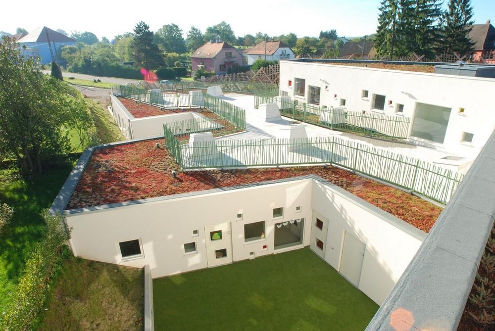 Энергоэффективный детский сад во Франции
