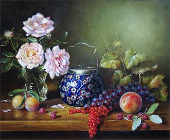 Натюрморты в стиле голландских и фламандских мастеров от Jos Kivits