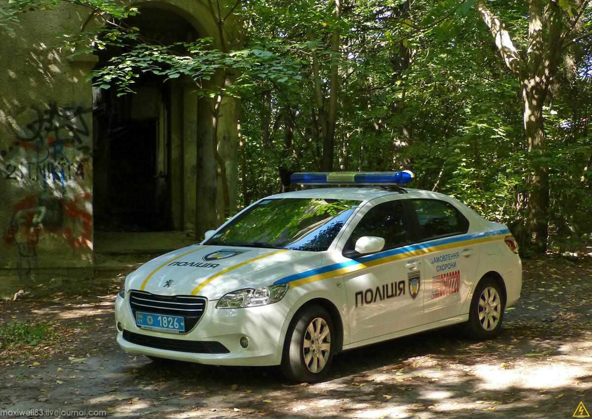 Peugeot 301 Поліція охорони