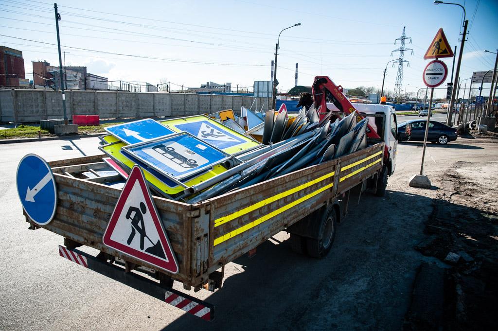 Петербург ищет подрядчика для завершения работ наразвязке «Пискаревский— Непокоренных»
