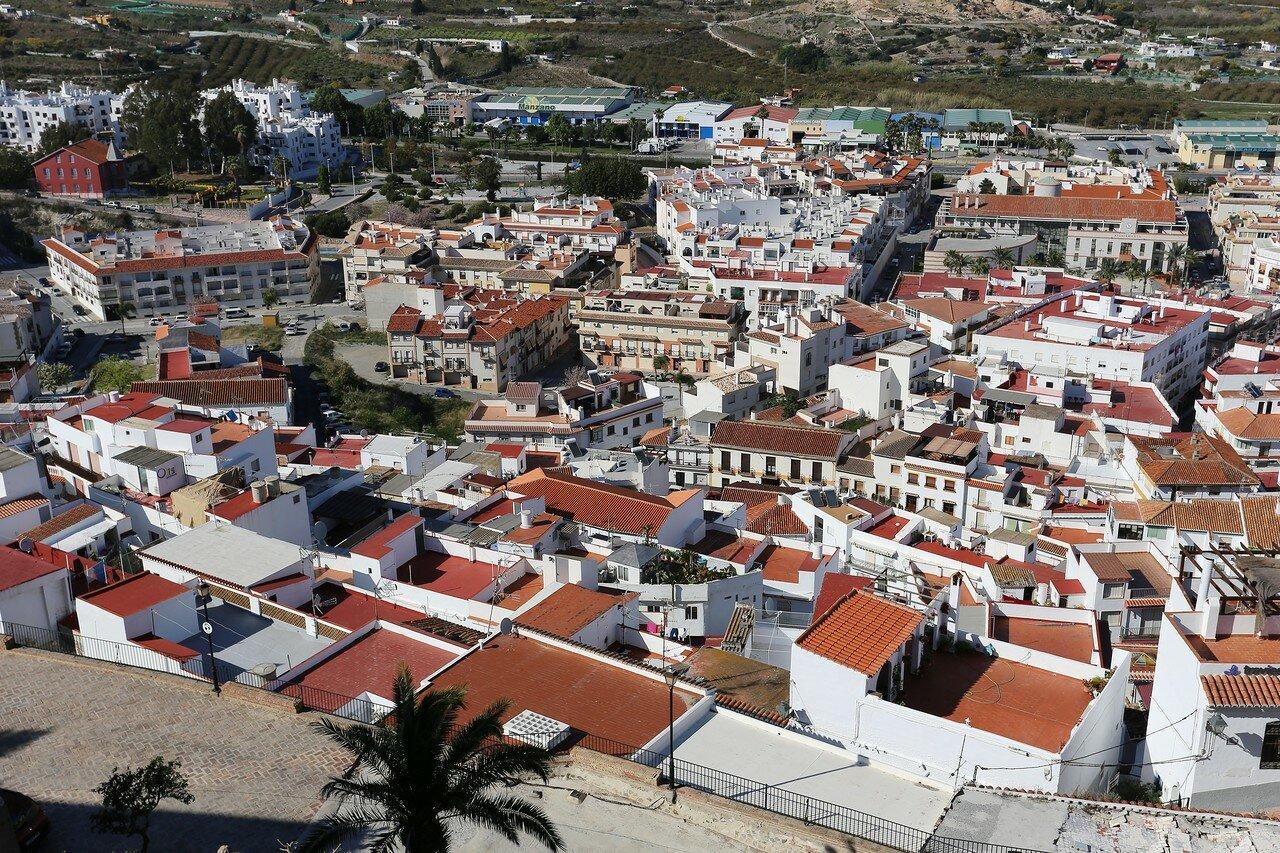 Вид с высоты крепости Салобренья