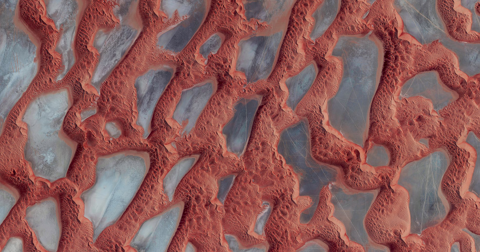 14. Виллы в в Абу-Даби. Это тоже один из самых жарких регионов мира. (Фото Benjamin Grant | Pen