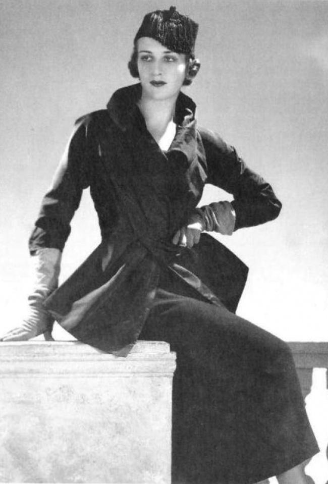 9. Манекенщица Женя де Кастекс, Париж, 1936.