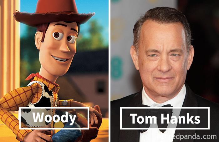 Вуди («История игрушек») — Том Хэнкс.