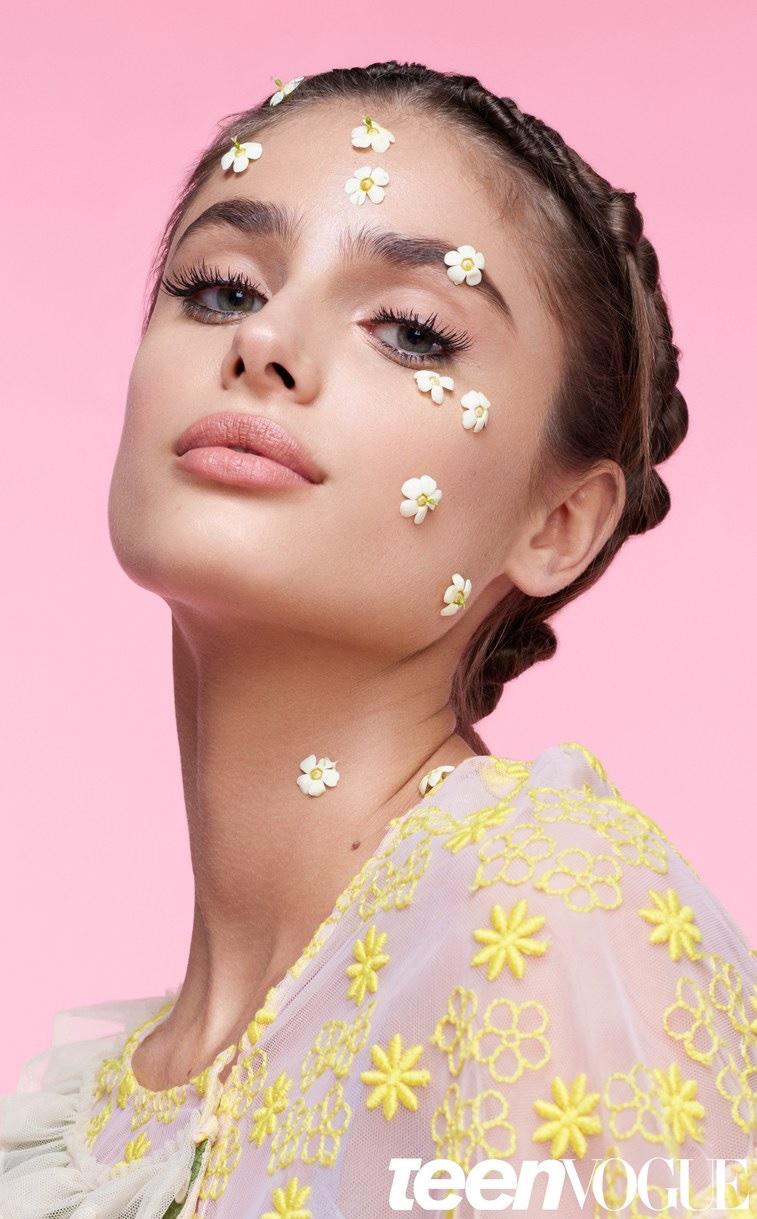 Тейлор Хилл в Teen Vogue