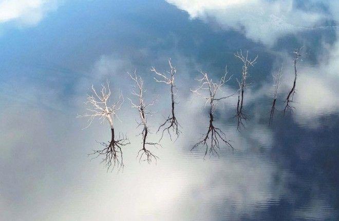 Озеро Герледан, Франция.