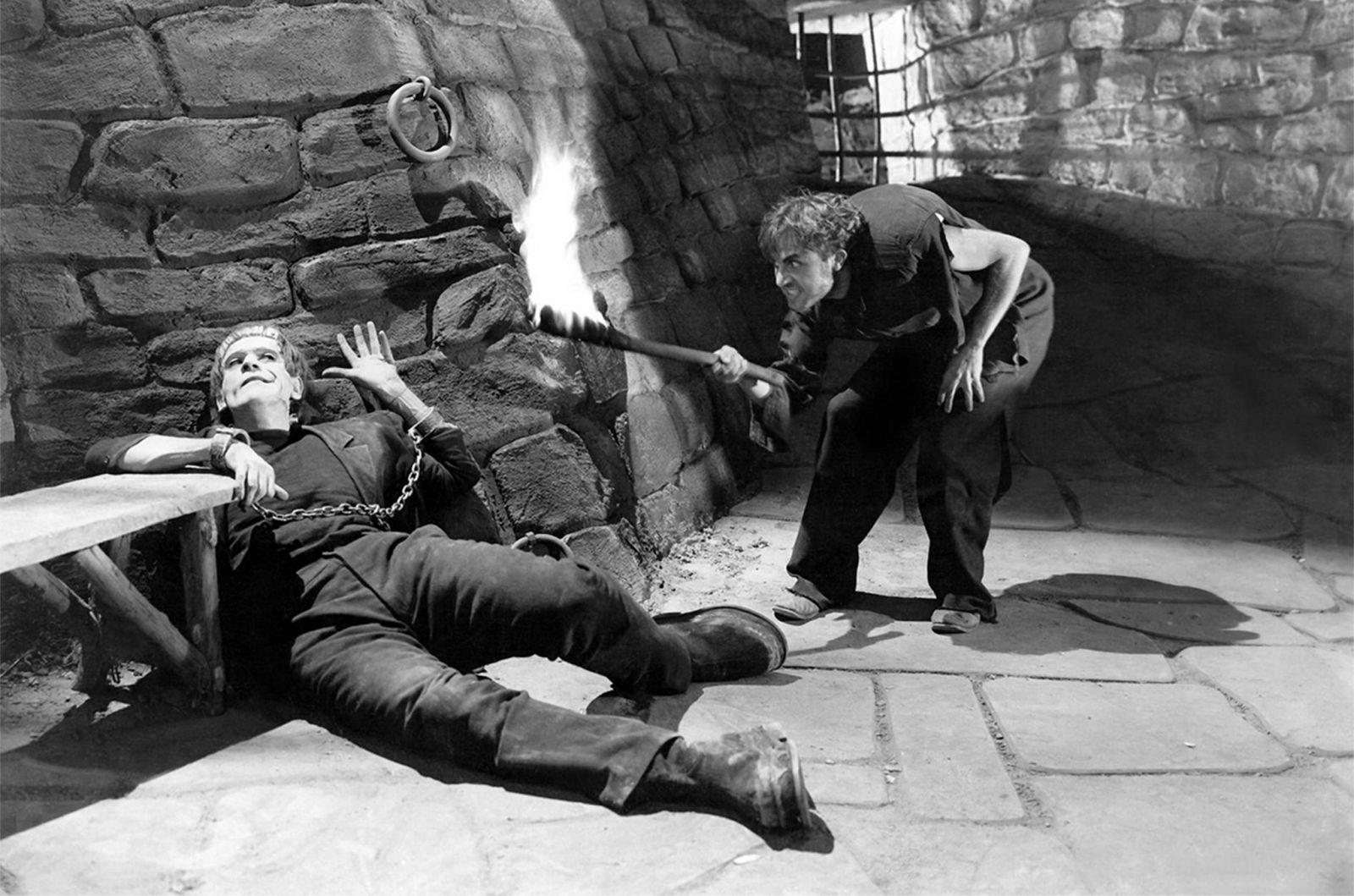 Фильм Джеймса Уэйла не был первым кинообращением к роману Мэрри Шелли (самый первый «Франкенштейн» б