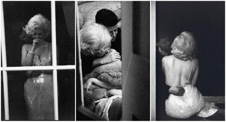 Эти фотографии можно встретить повсюду в интернете, и на них якобы изображены моменты близости Мэрил