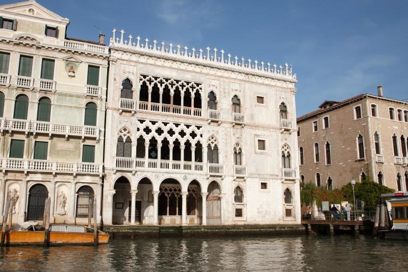 Что посмотреть в Венеции:  ка' д'оро