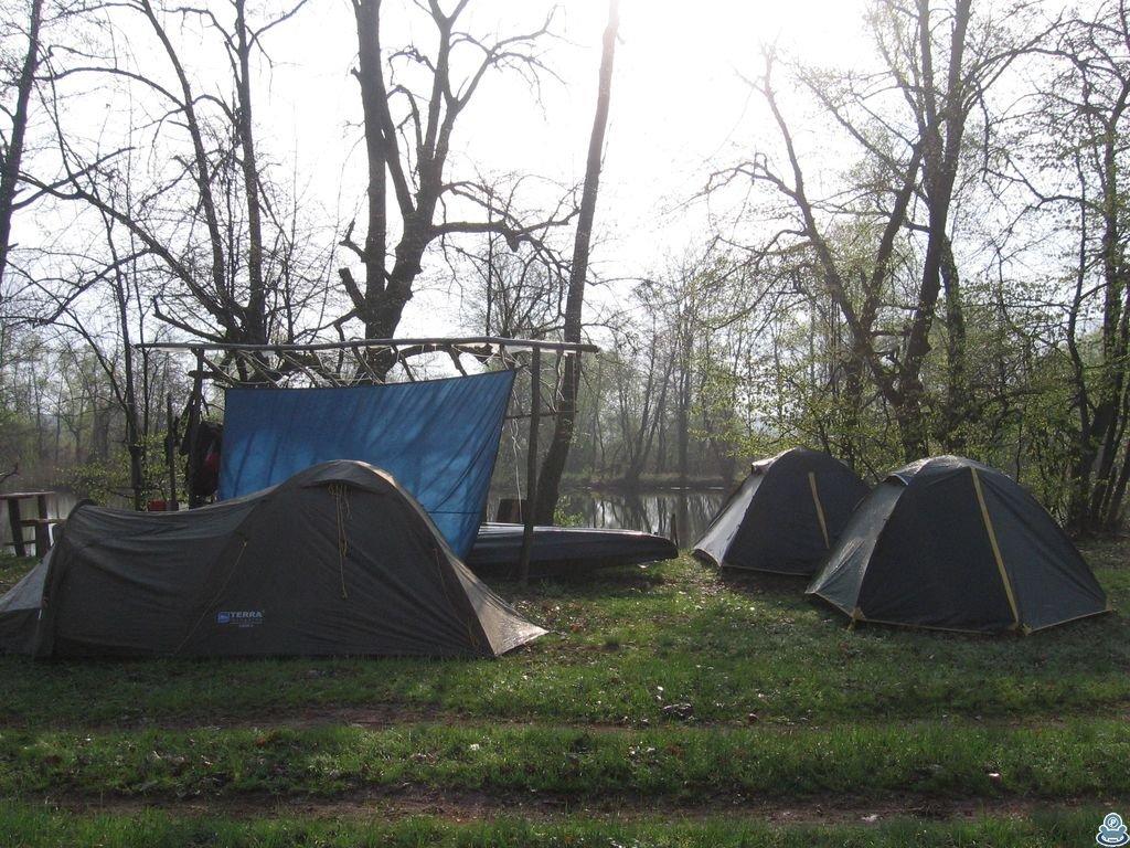 Лагерь на берегу Ворсклы