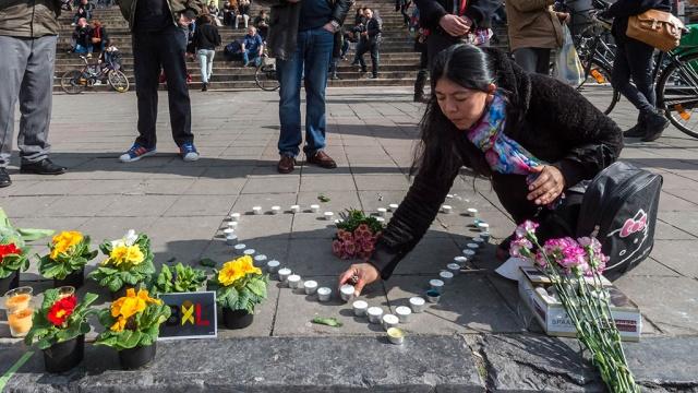 В итоге взрывов вБрюсселе погибли 35 человек