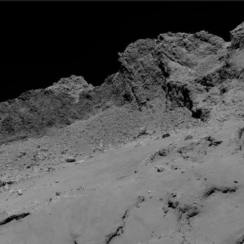 Космический зонд «Розетта» столкнулся скометой
