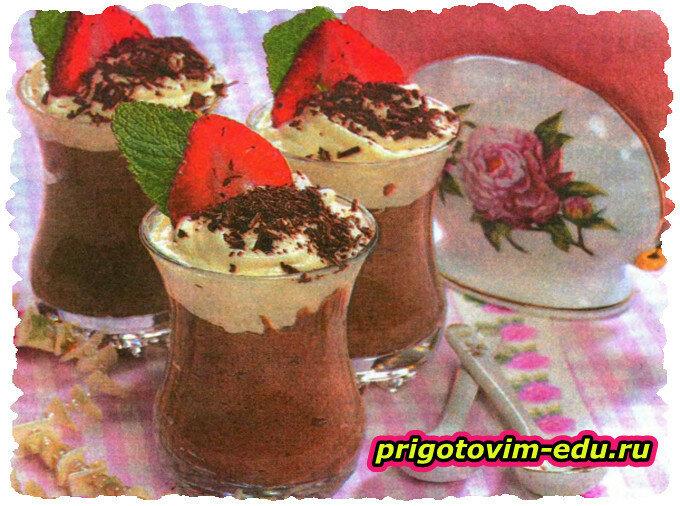 Шоколадно-овсяный десерт в мультиварке