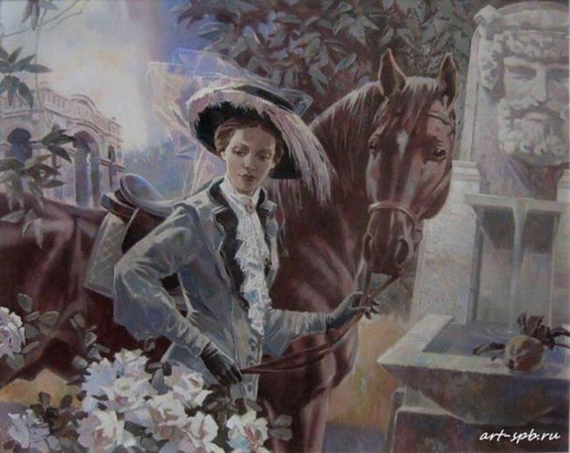 Романтичные картины художника Алексея Лашкевича