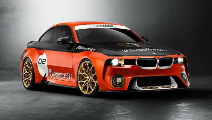 BMW 2002 Hommage Coupe: Воспоминание о пионерах турбонаддува