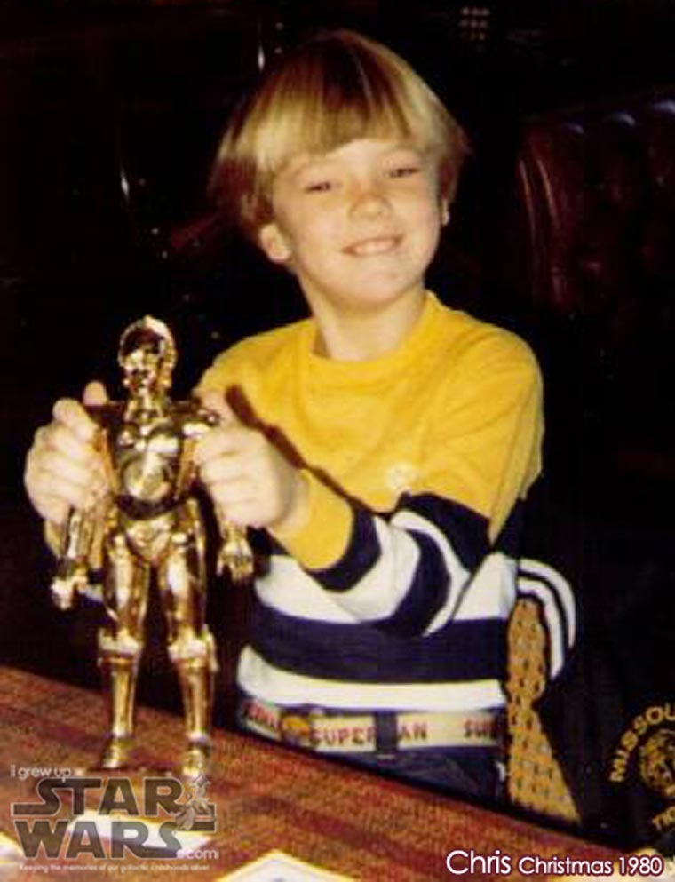 I Grew Up Star Wars - When fans unveil their childhood photos with Star Wars