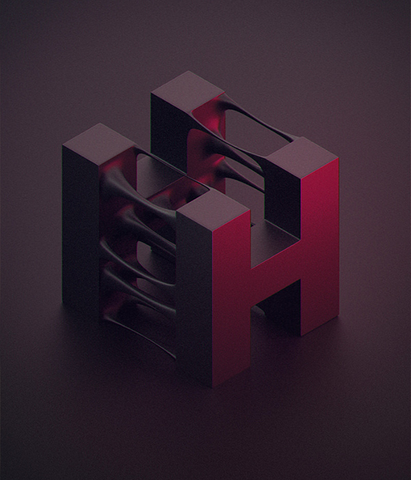 Creative Typography by Zigor Samaniego Fantastic series of typographic illustrations by Spanish digi