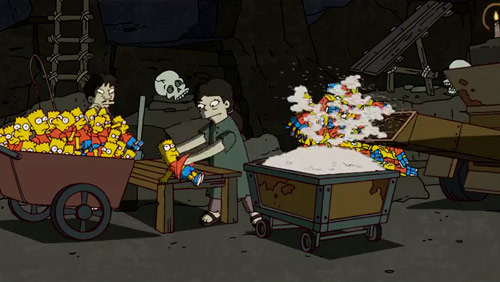 Banksy Directs the Opening of the Simpsons