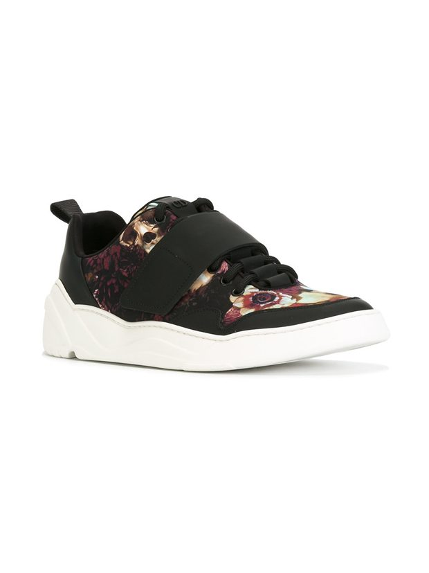 DIOR HOMME floral print sneakers