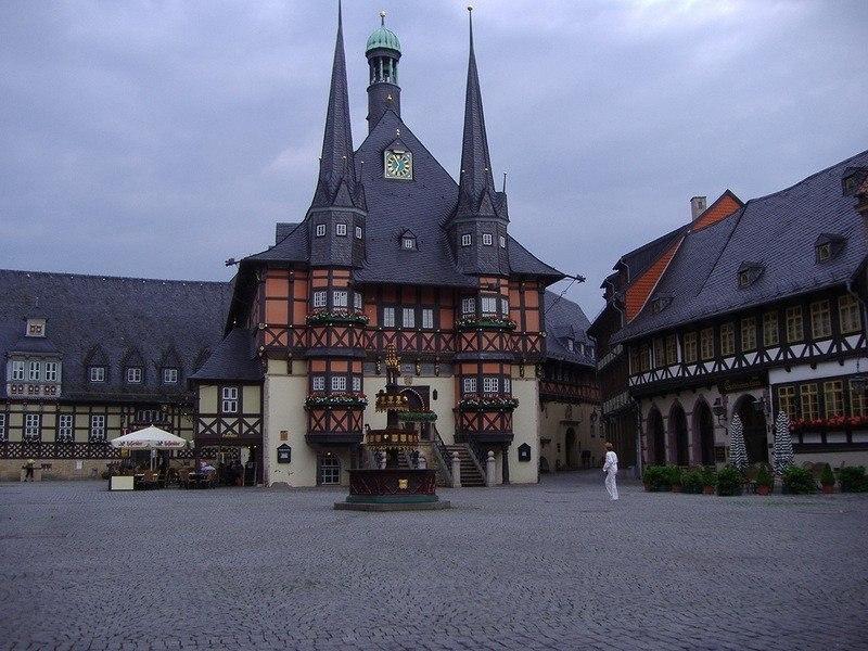 Немецкий городок Вернигероде   настоящая современная сказка