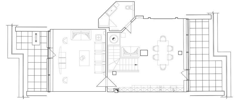план второго этажа квартиры