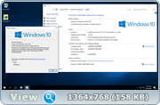 Windows 10, Version 1607 обновленная [14393.222] (x86-x64) AIO [36in2]