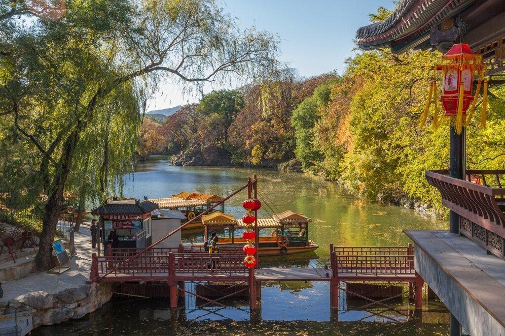 парк Ихэюань, Пекин, Летний императорский дворец