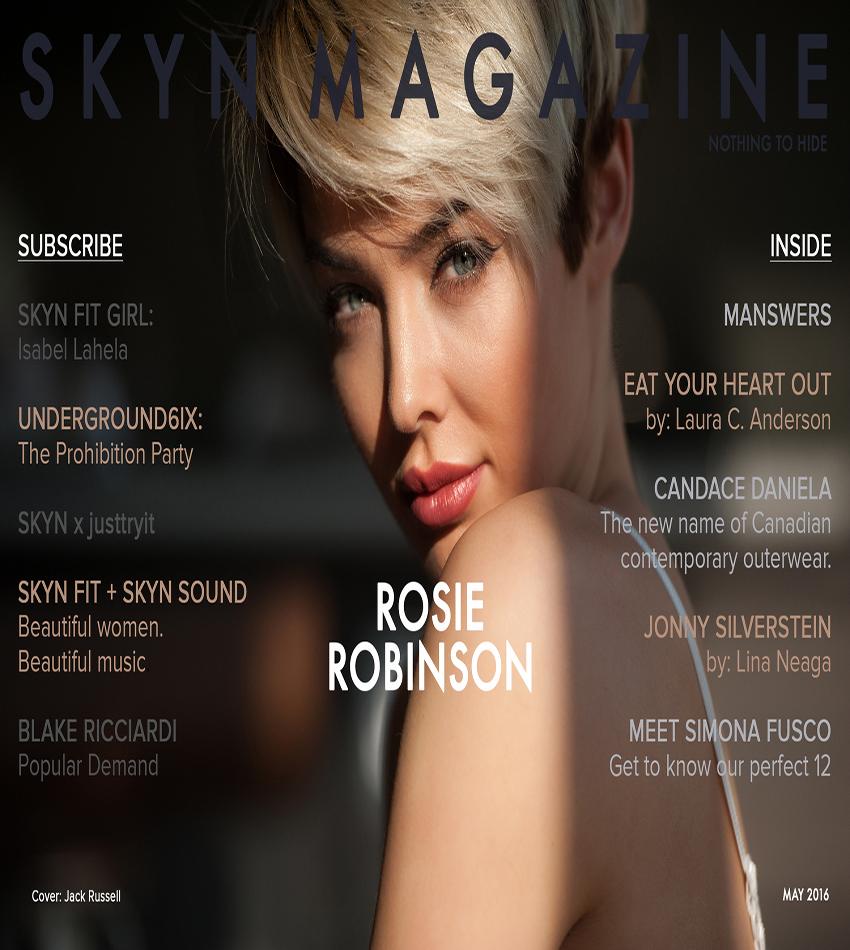 Rosie Robinson - SKYN Magazine (May 2016)