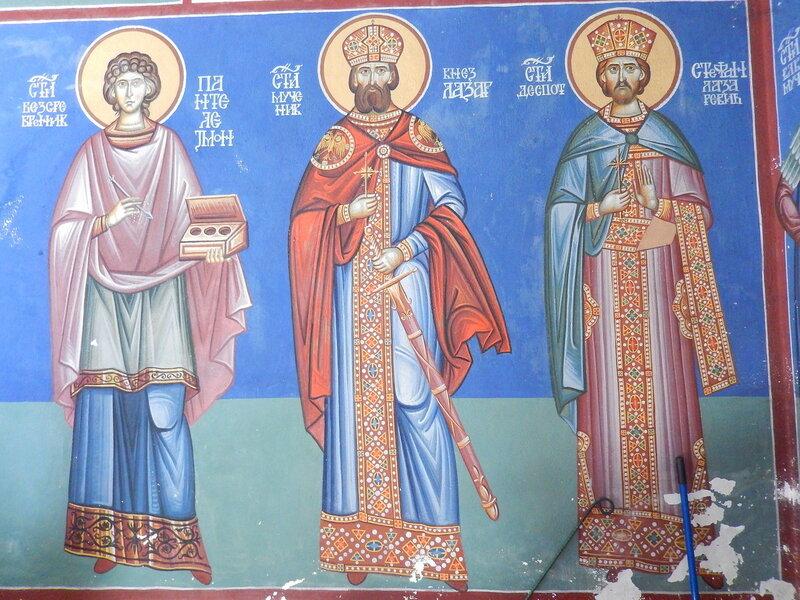 Святой бессребреник Пантелеимон и два Святых Князя