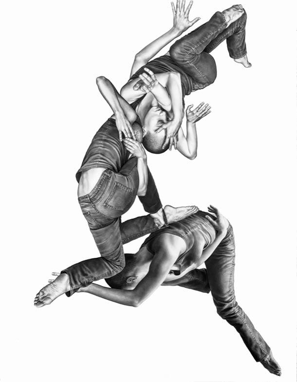 Leah Yerpe - Corps flottants et dessins realistes…