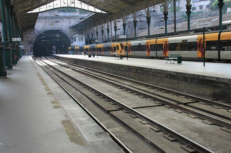 Вокзал Сан-Бенту, Порту, Португалия (Station Sao Bento, Porto, Portugal)