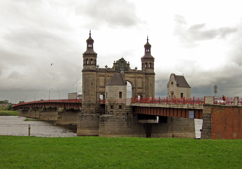 Мост Королевы Луизы через Неман