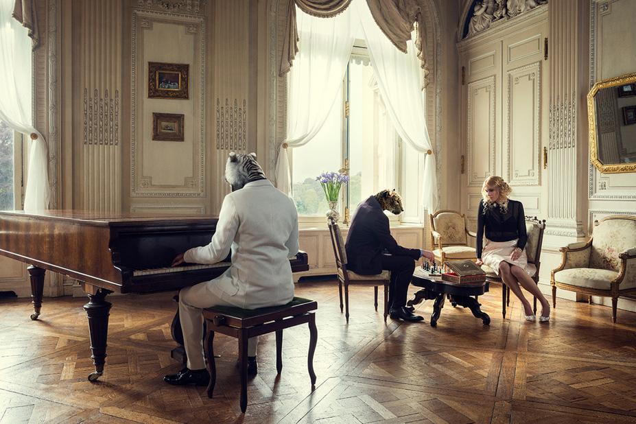 Le piano - Une vie de chateau / A golden youth / photo by Malo