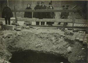 1916. 29 января. Урон, нанесенный атакой дирижабля. Улица Нахо