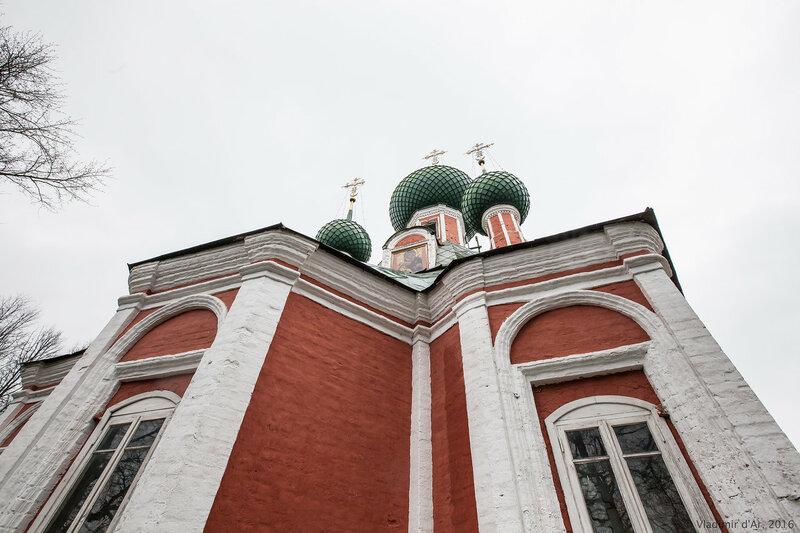 Владимирский собор. Красная площадь. Переславль-Залесский.