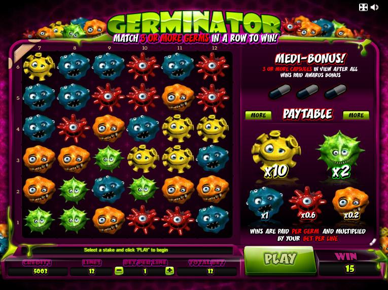 �?гровой автомат Germinator