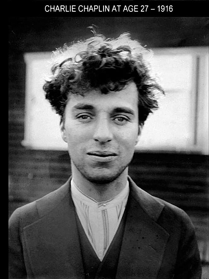 Чарли Чаплин, 27 лет, 1916 год, (677)