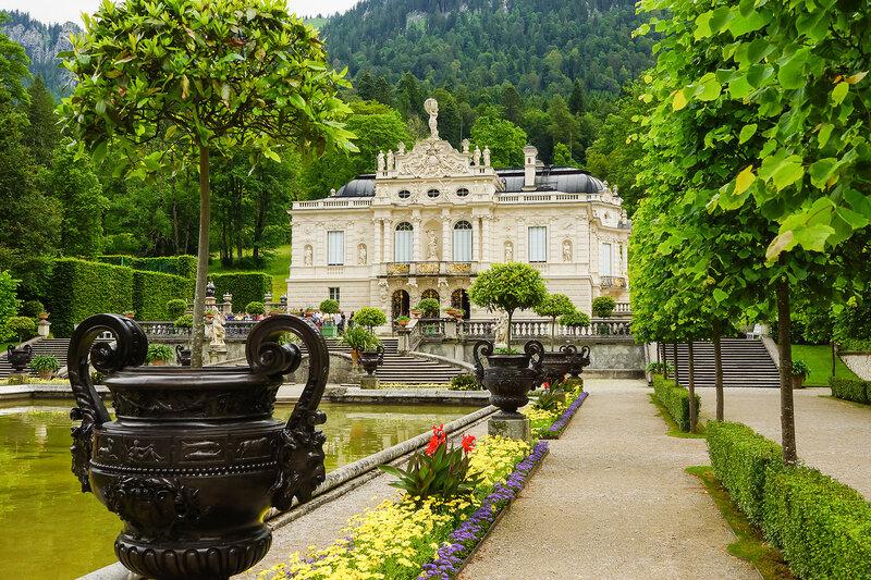 Замок Линдерхоф (Бавария)