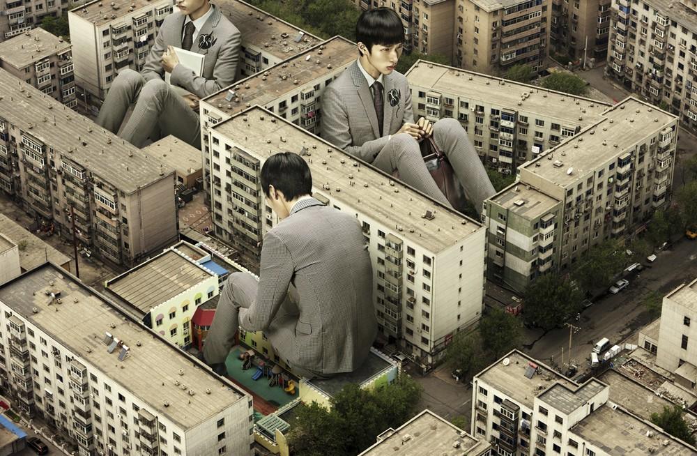 Удивительные фотоманипуляции китайского дизайнера